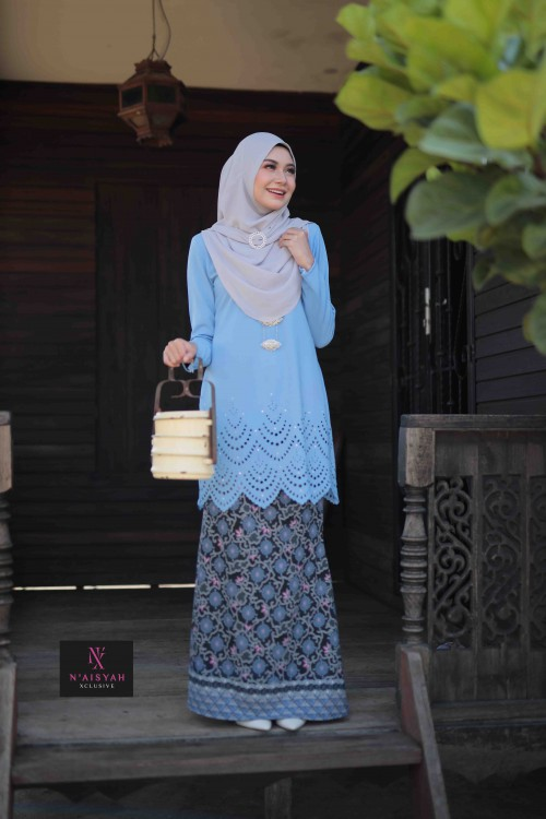 Tun Teja Ibu - Light Blue