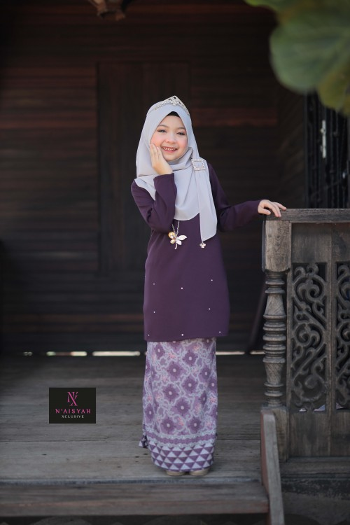 Tun Teja Anak - Dark Purple (2-4)