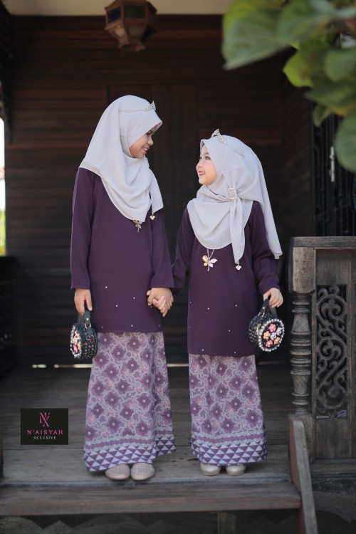 Tun Teja Anak - Dark Purple (6-12)