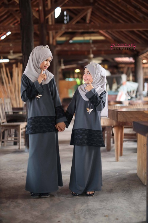 Kausar Kids - Grey