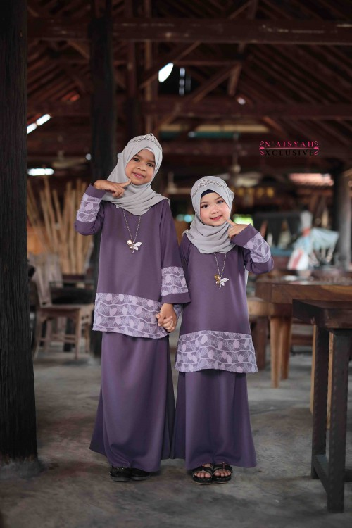 Kausar Kids - Purple Lavender