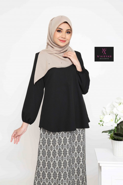Lufya Blouse - Black