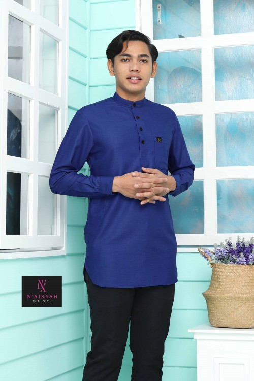 Kurta Yussof - Royal Blue