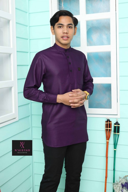 Kurta Yussof - Purple
