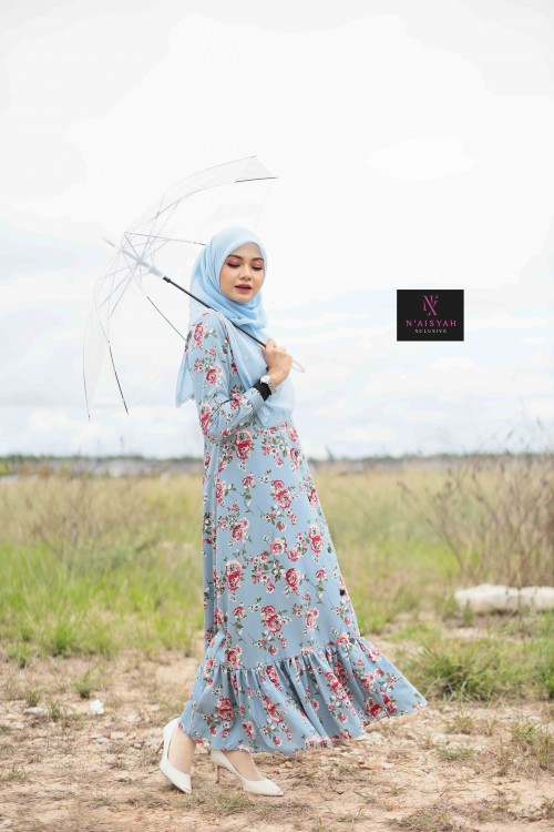 Juwita Printed Dress - JW11