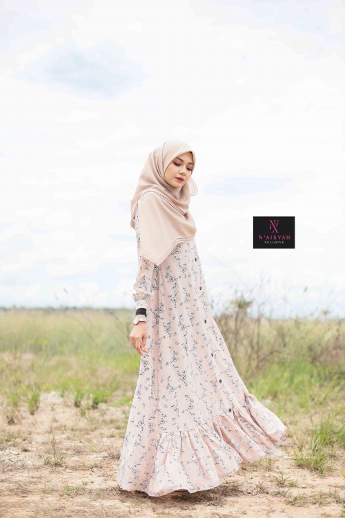 Juwita Printed Dress - JW16