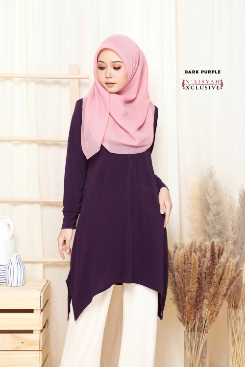 Calyta Blouse - Dark Purple
