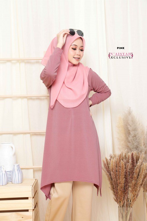 Calyta Blouse - Pink