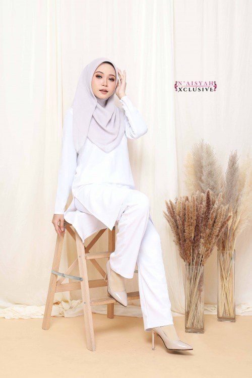 Hayla Pants - White